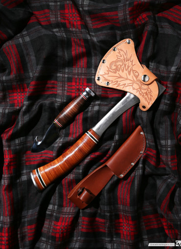 Axe and Knife | © 2015 Grace Anne Vergara
