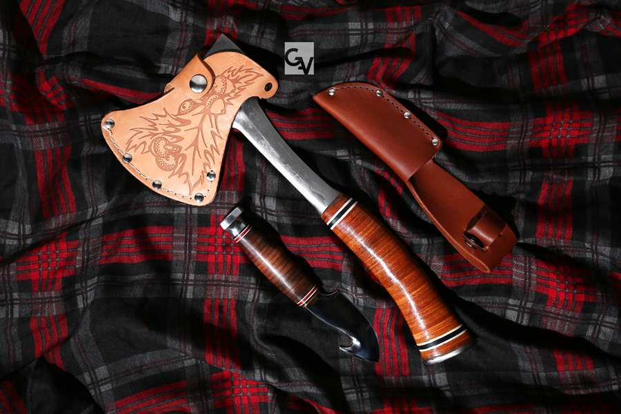 Gallery | Axe and Knife | © 2015 Grace Anne Vergara