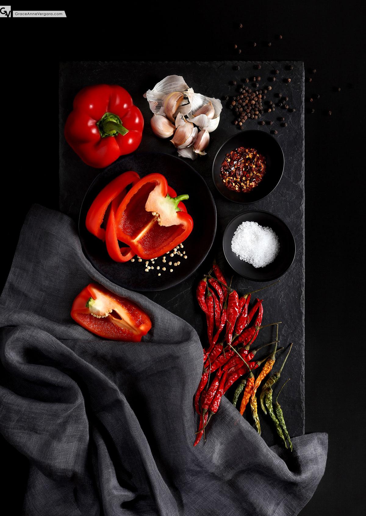 Peppers | © 2015 Grace Anne Vergara