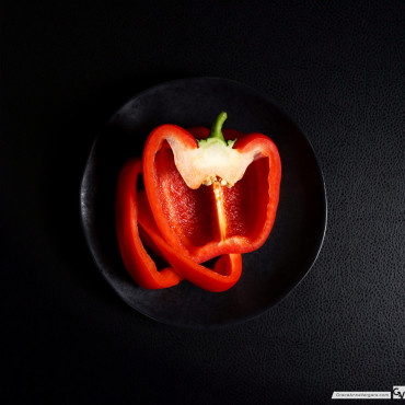 Red Bell Pepper | © 2015 Grace Anne Vergara