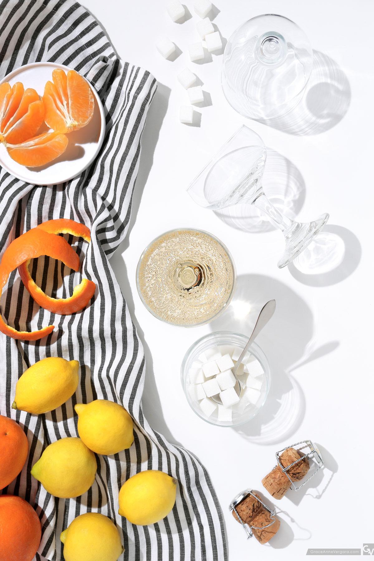 Citrus Champagne | © 2015 Grace Anne Vergara